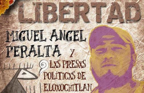 Demandan la liberación de ocho presos políticos de Oaxaca